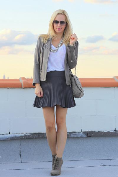Madison Harding boots - Dolce Vita jacket - rachel roy bag