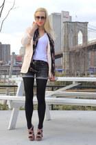 Miu Miu shoes - H&M Trend blazer - Alexander McQueen scarf