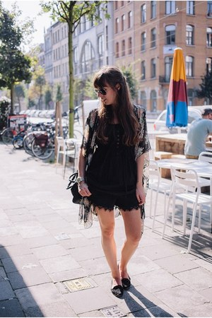 black shorts Loavies shorts - black aviator ray-ban sunglasses