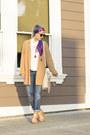 Boyfriend-jeans-gap-jeans-headband-lucky-brand-scarf