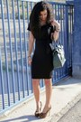 Forest-green-london-fog-bag-asos-heels
