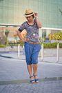 Stradivarius-pants-forever21-shirt-newlook-belt-newlook-hat-newlook-shoe