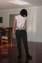 enroule shirt - Target Australia jeans - Target Australia boots