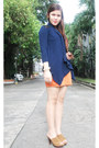 Beige-flatterbuy-necklace-carrot-orange-primadonna-dress