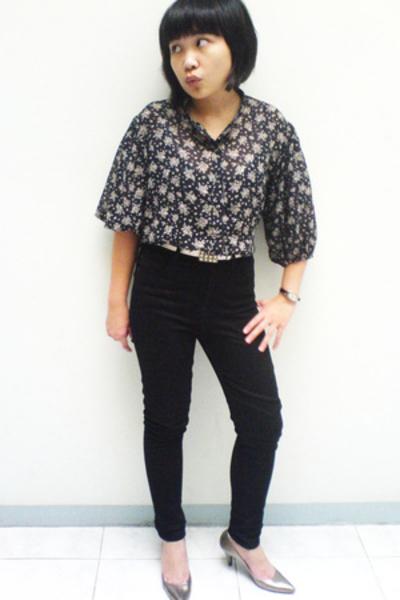 blouse - Mango jeans
