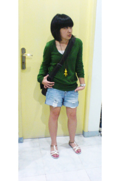 Mango sweater - Body and Soul jeans - Esprit purse - necklace