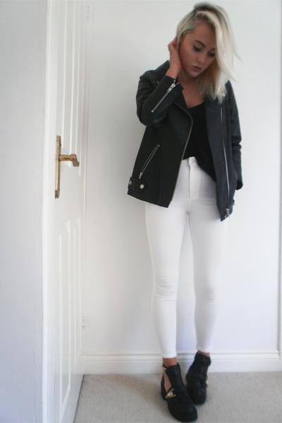 leather H&M jacket