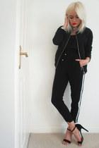 Topshop jacket - Topshop top - Primark pants - Primark heels