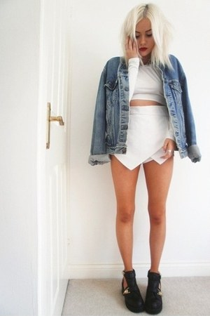 denim Urban Outfitters jacket