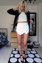 new look shoes - Topshop jacket - Ebay shorts - Primark top
