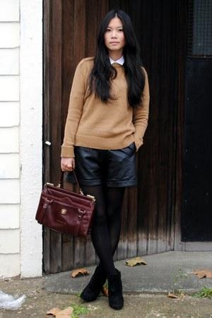 Zara jumper - suede asos boots