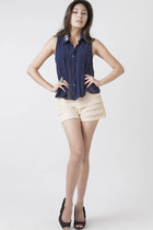 Navy ClubCouture Blouses