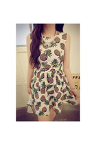 Vintage Pineapple dress
