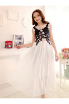 2014 New Arrival Slim Freshness Chiffon Long Dress