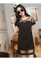 Korean Personality Net Nail Simple Matching Dress