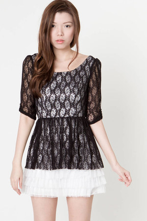 tara lace dress ClubCouture dress