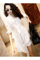 Fashion New Style Asymmetry Loose Shirt