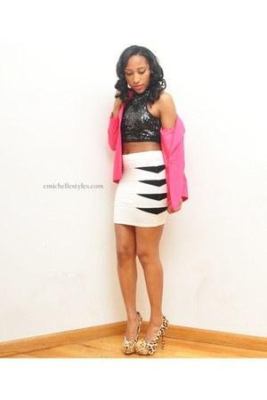 blazer - Love Culture top - Arden B skirt