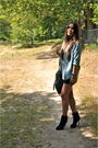 Black-topshop-skirt-blue-zara-blouse-silver-h-m-top-black-zara-boots