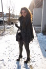 Black-topshop-leggings-gray-urban-outfitters-scarf-black-topshop-boots-bla