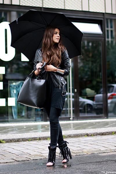 black freja Alexander Wang boots - black Cheap Monday jeans