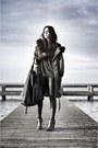 Charcoal-gray-boots-dark-khaki-parka-coat-leather-tote-bag