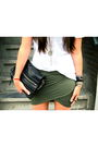 Black-steve-madden-boots-green-pieces-skirt-white-zara-t-shirt-black-zara-