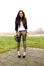 Gold-mango-jeans-black-h-m-heels-black-zara-blazer