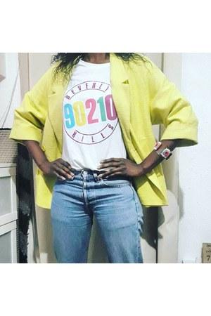 yellow Mango jeans