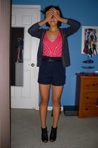 Kate Moss for Topshopshop shirt - Go International for Target shorts - American