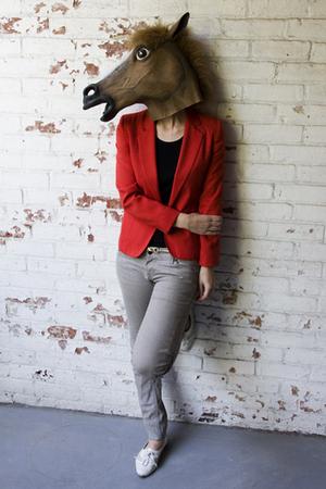 red Devil petite blazer