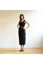 black 90s dress vintage from etsy dress
