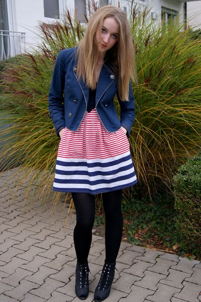 BDG jacket - some random place in London dress - H&M shoes