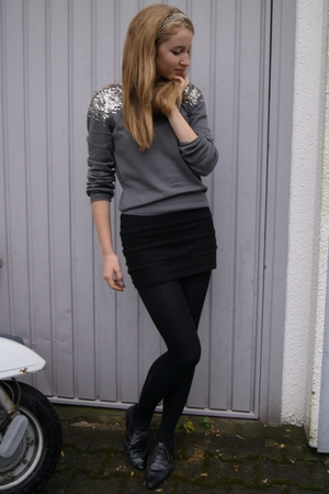 H&M sweater - H&M dress - Urban Outfitters shoes