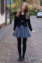 Zara jacket - Zara Kids skirt - Topshop shoes