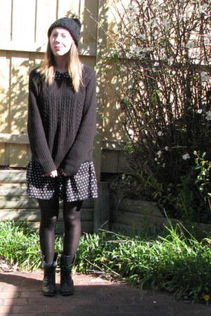 black Jay Jays sweater