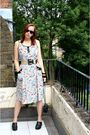 Gray-vintage-from-ebay-dress-black-shoes