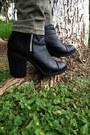 Black-animal-print-necessary-clothing-shirt-black-black-leather-h-m-boots