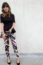 Vintage-bag-zara-heels-h-m-blouse-h-m-pants