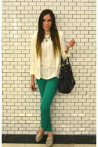 Urban Outfitters blazer - Michael Kors bag - Zara pants - Zara blouse