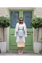 Chanel bag - Monica Vinader bracelet - Sugar Hill skirt