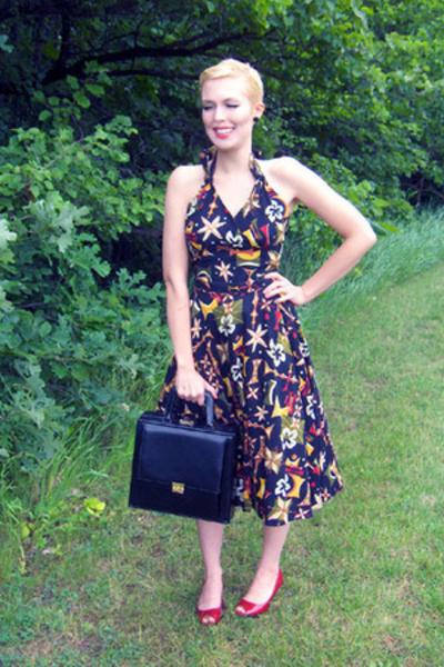 lilli jean dress - elizabeth arden purse - Target shoes