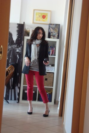 primark pants - hm blazer - primark shirt