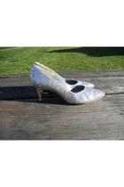 Silver-sequin-heels