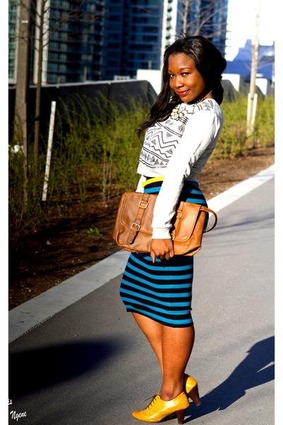 green Forever 21 skirt - heather gray Forever 21 skirt