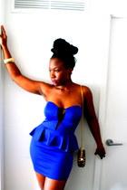 blue Metro dress