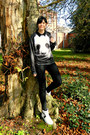 Black-skinny-primark-jeans-black-graphic-panda-oasap-sweatshirt