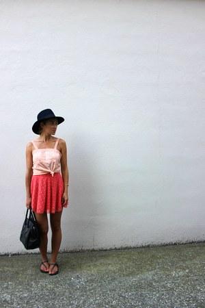 black fedora Forever 21 hat