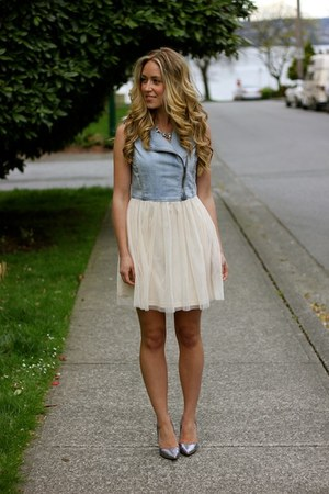 cream tulle Style Mint dress
