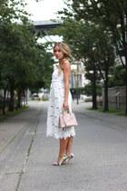 white midi Stone Cold Fox dress